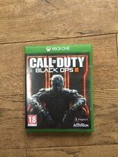 EXCELLENT CONDITION ( CALL OF DUTY BLACK OPS 3 ) XBOX  ONE GAME