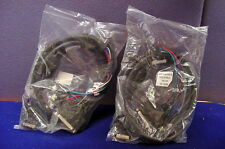 TWO SPECIALIZED AV PARALLEL PORT CABLES W/DB25 AND BNC INTERCONNECTS FOR MONITOR