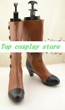 Black Butler Elizabeth Midford high heel Cosplay Boots shoes shoe boot  #NC210