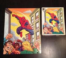 spiderman puzzle 1976 ( canadian ) whitman 100 pc