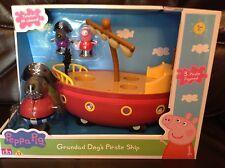 PEPPA Pig-Grandad DOG'S Nave Pirata