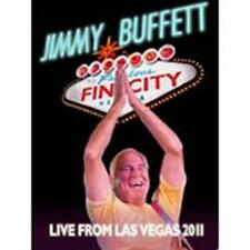 JIMMY BUFFETT: Welcome to Fin City: Live from Las Vegas 2011 (2-Disc CD/DVD) NEW