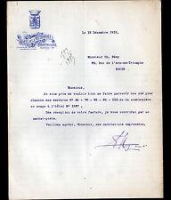MONTPELLIER (34) HOTEL DE LA METROPOLE en 1918