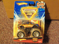Hot Wheels Monster Jam Flag Series 1/64 Scale Mud Trucks #45/75