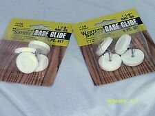 Harbor Freight Set of 2 4pc Set of 1-1/8 Nail On Base Glide Item 93563