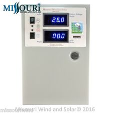 440 amp 10,000 watt charge controller 12/24/48 volt 4 wind turbine solar panel