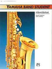 "YAMAHA BAND STUDENT ""ALTO SAXOPHONE"" MUSIC BOOK LEVEL 1 BRAND NEW SAX ON SALE!!"