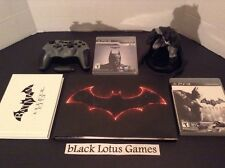 Limited Edition Batman Wireless PS3 Controller + 2 Games Arkham Knight Art Book