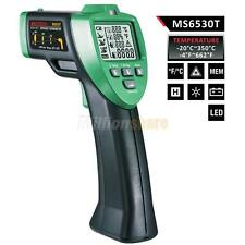 MASTECH MS6530T Digital Infrared Laser IR Gun Temp Humidity Meter Non-Contact