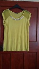 Atmosphere ladies top,yellow,new no tag,size 12