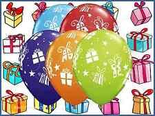 27.9cm regalos y estrellas Surtido Látex Globos De Helio Fiesta Navideña