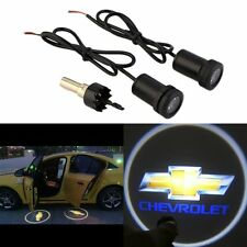 2x Car Door LED Courtesy Welcome laser Projector Logo Shadow Light For CHEVROLET