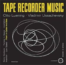 Tape Recorder Music by Otto Luening/Vladimir Ussachevsky (Vinyl, Oct-2013,...