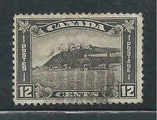 CANADA # 174 Used CITADEL AT QUEBEC (3182)