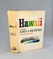 Hawaii-James A. Michener-SIGNED!!-First/1st Edition/2nd Printing-1959-VERY RARE!