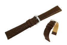 Hadley Roma Genuine Leather Watch Band / Strap 22mm - MS843