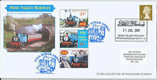 GB 2010 Nene Valley Railway Thomas Full Steam Ahead stamps on cover as per scan