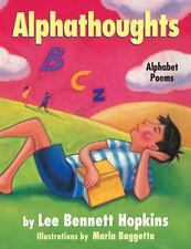 Alphathoughts: Alphabet Poems by Lee Bennett Hopkins Hardcover Book (English)