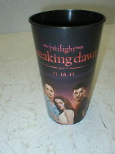 The Twilight Saga Breaking Dawn Part 1 Official 2011 Collectible Tumbler Glass