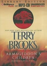 NEW - Armageddon's Children (Genesis of Shannara Series) by Brooks, Terry