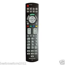 New Panasonic N2QAYB000486 Remote Control for Many 2010-11 Plasma TV with LIGHT