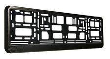 CARBON EFFECT EURO LICENSE PLATE FRAME