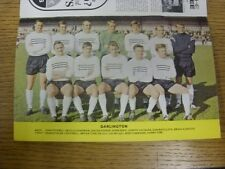 1967/1968 Football League Review: Vol 2 No 23 - Colour Picture - Darlington [Par