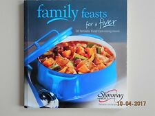 SLIMMING WORLD FAMILY FEASTS FOR A FIVER 50 ORIGINAL RED GREEN & EXTRA EASY VGC