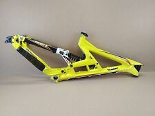 "Scott Gambler 26"" DH Downhill Freeride Bike Frame - Yellow USED 075"