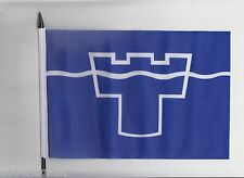 Tyne and Wear County Medium Hand Waving Flag