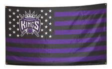 Sacramento Kings Flag 3x5 Banner NBA Poster Stars and Stripes NEW