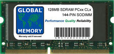 128MB PC66 PC100 PC133 144-PIN SDRAM SODIMM MEMORY RAM FOR LAPTOPS/NOTEBOOKS