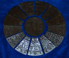 CUSTOM STARGATE COVER STONE FIGURE SIZE STAR GATE MOVIE 14 1/2 INCH REPLICA