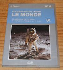DVD doc, La naissance de l'aviation et le 1er homme sur la lune, BBC, 50 mn