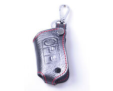 Leather Remote Key Chain Case Cover Key Holder For LAND ROVER Range Rover Sport