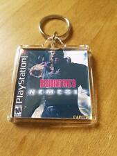 RESIDENT EVIL 3 NEMESIS PLAYSTATION cover psx retro  KEYRING gaming ps1