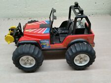 RARE Vtg TONKA Battery Op. JEEP Dune Buggy Toy Car Truck 80s PRESSED STEEL