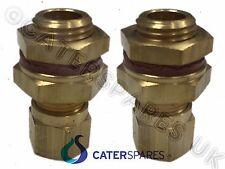 "HEATING ELEMENT BRASS COMPRESSION  ROD GLANDS BAIN MARIE WET WELL 1/4"" BSP 8mm"