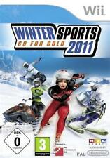 Nintendo wii hiver ports 2011 allemand * comme neuf