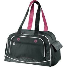 Sport GYM Yoga Lightweight Duffel Bag - Black/Pink