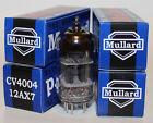 Mullard CV4004 / 12AX7 / ECC83 pre-amp tubes,Reissue, NEW, Matched Quad