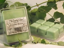 Country Breeze Scented Soy Wax Clamshell Melt Tart- 2wks of Fragrance