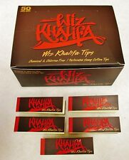 5X NEW *WIZ KHALIFA TIPS 50 Tips Per Pack 250 Total Free Shipping