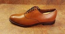 Allen Edmonds 'Carlyle' Plain Toe Lace Up Oxford Brown Size 7.5 E Mens MSRP $385