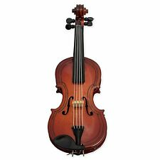 "Miniature VIOLIN MAGNET Musical Instrument Replica, 4"" Long, Superb Detail"
