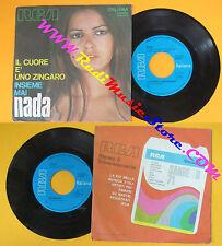 LP 45'' NADA Il cuore e'uno zingaro Insieme mai 1971 italy RCA 3576 no cd mc*dvd