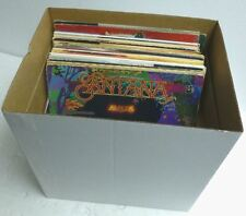 "Heavy-Duty 12"" or LP Record Box For Road,Show or Storage Vinyl Album Box w/ Lid"