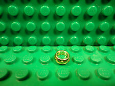 Lego 1 Chrome Gold ring 1x1 Lord of the Rings NEW