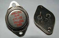 Delco GM DTS-801 7935235 TO3 NPN vintage power transistor