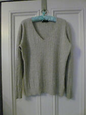 ladies cashmere jumper 16/18 beautiful super soft luxury texture stylish lovely